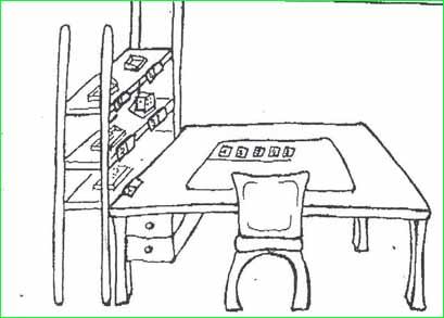 Cách tổ chức phòng học và bàn học