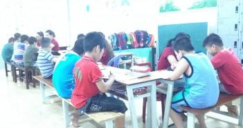Phòng học lớp Tiền học đường